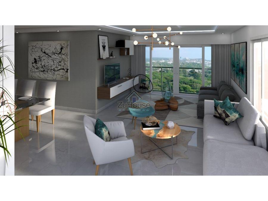 apartamento en venta en torre en thomen santiago wpa13 d