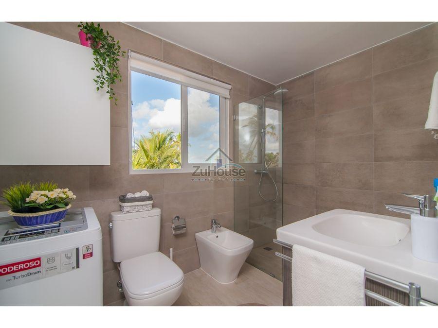 apartamento nuevo en venta en 1er nivel en punta cana wpa94 a