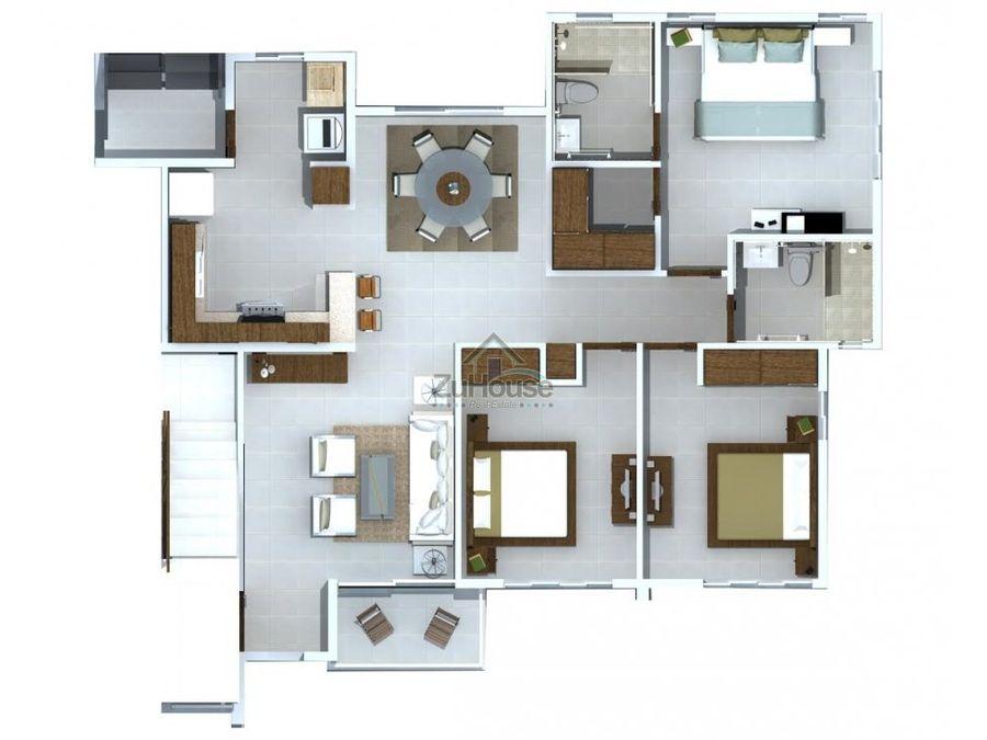 apartamento en venta en santiago wpa88 e