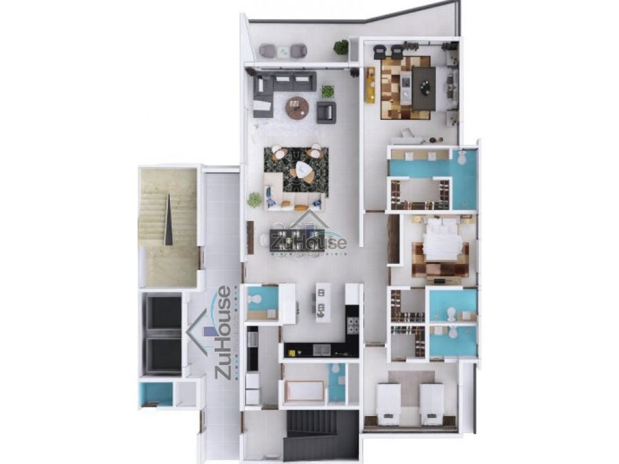 apartamento en venta en la trinitaria stgo wpa89 b
