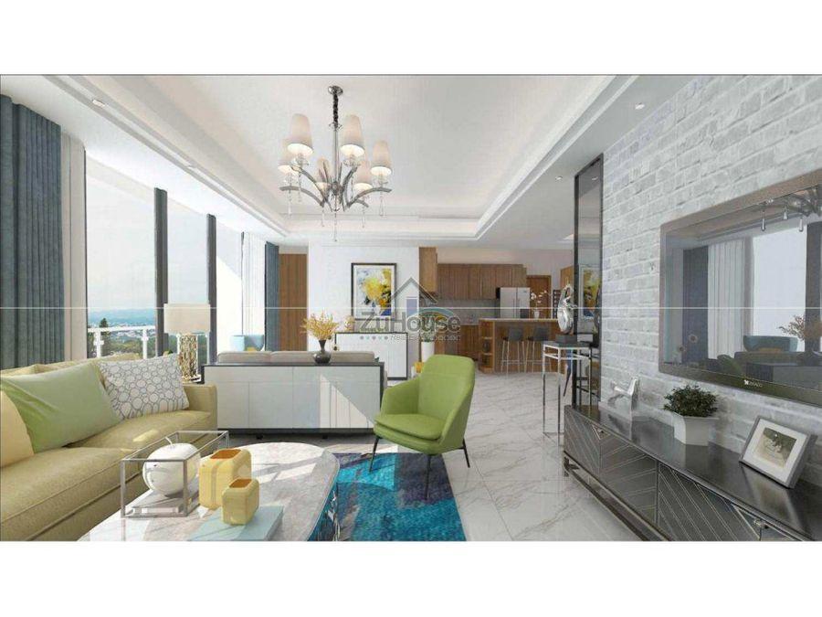 apartamentos en venta en exclusiva torre en santiago wpa106 b