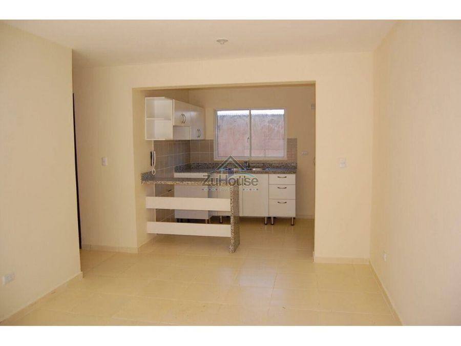 apartamento en venta las charcas santiago za32 k