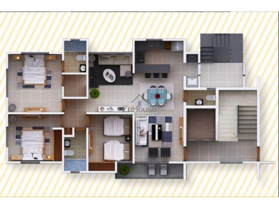 torre de apartamentos en planos en gurabo wpa115