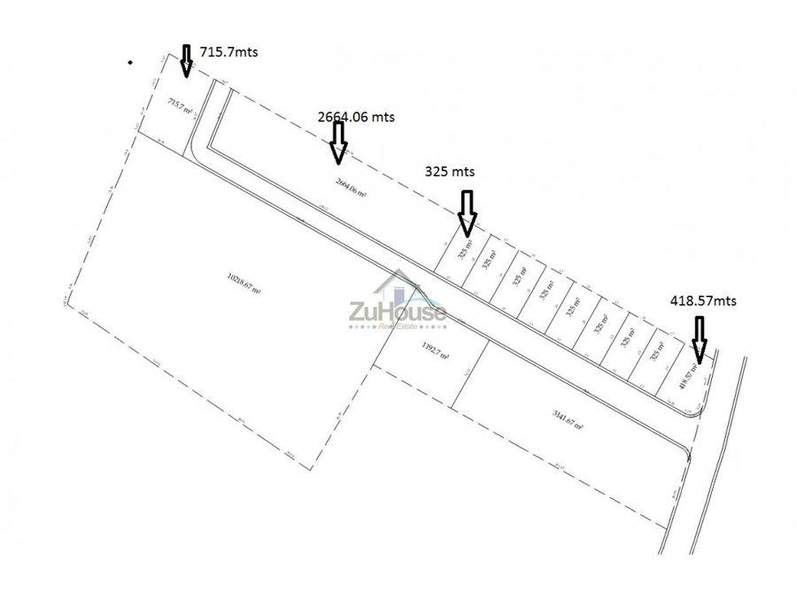solar para proyecto de apartamentos o casas bds02
