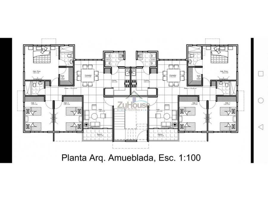apartamento en venta gurabo santiago za02 a