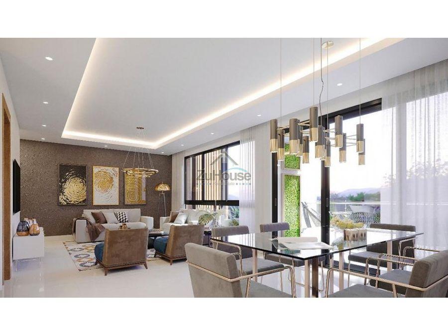 apartamento en venta en el dorado santiago de los caballeros wpa71 a