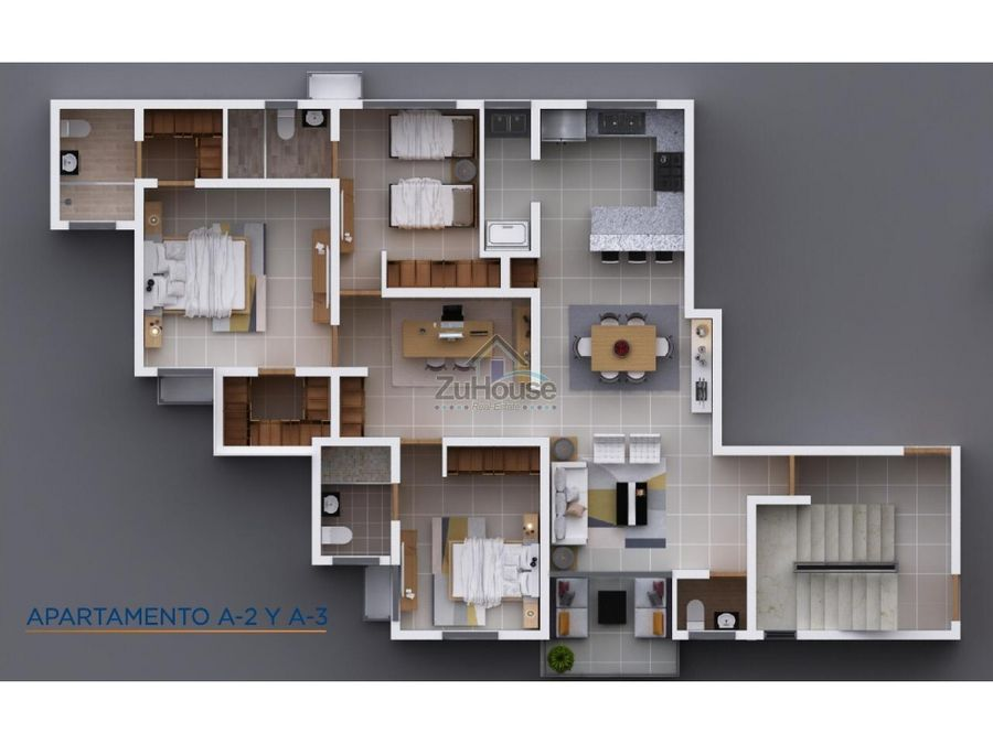 apartamentos en venta en planos en el embrujo iii wpa49 a