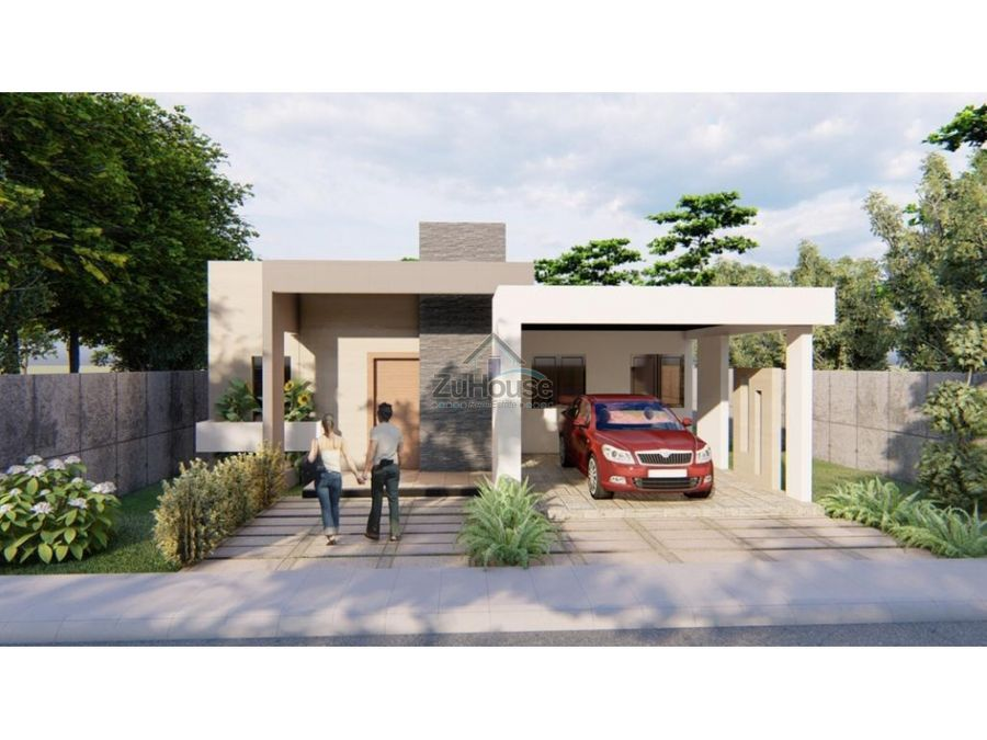 casa con patio en venta en gurabo santiago wpc07 b