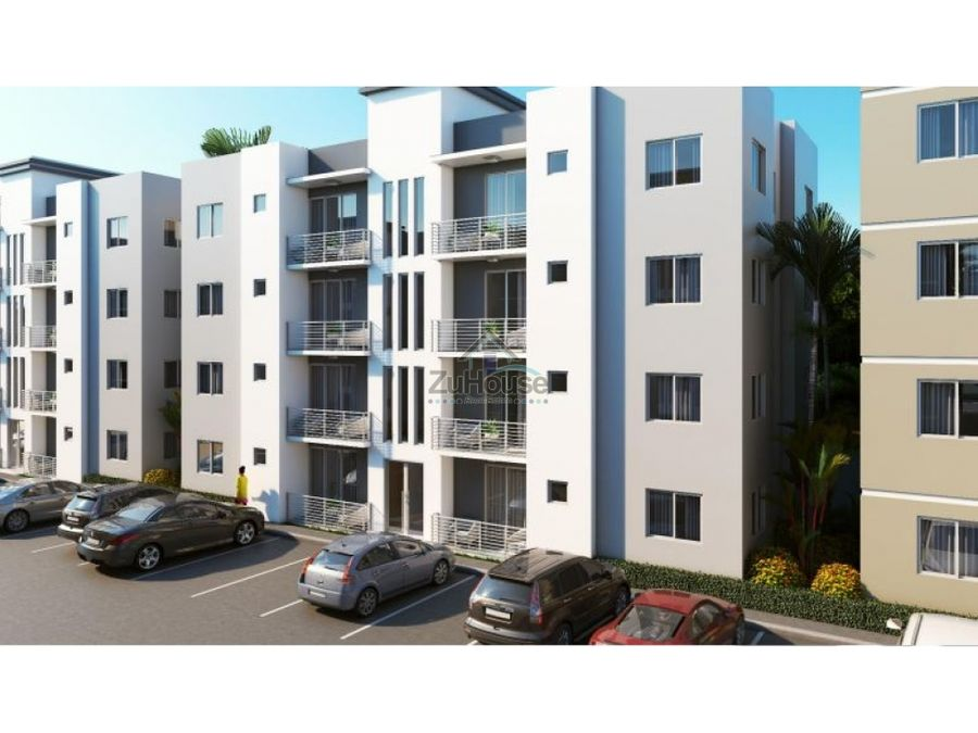 apartamento en venta en planos 1er y 2do nivel carretera licey wpa32 a