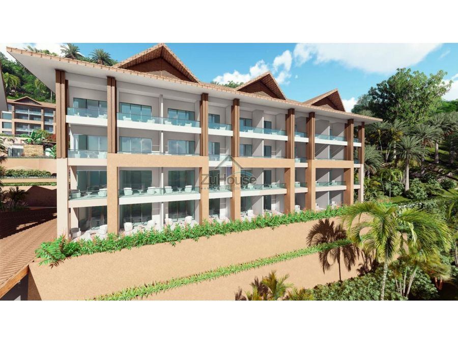 apartamentos de 2 habitaciones en venta en bahia de samana wpa129 f2