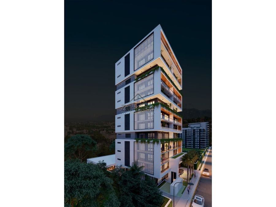 apartamentos en venta en hermosa torre en rincon largo santiago za05b