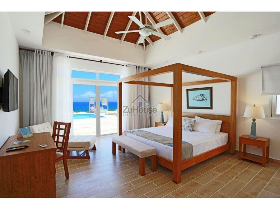 villa en venta de 3habitaciones en complejo turistico de sosua wpv07 c