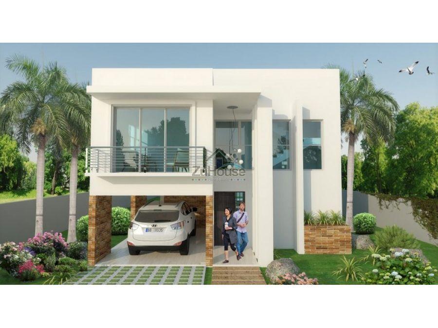 villa en venta en sosua puero plata wpv04