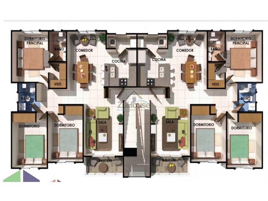 apartamento en venta en arroyo hondo stgo za06 a