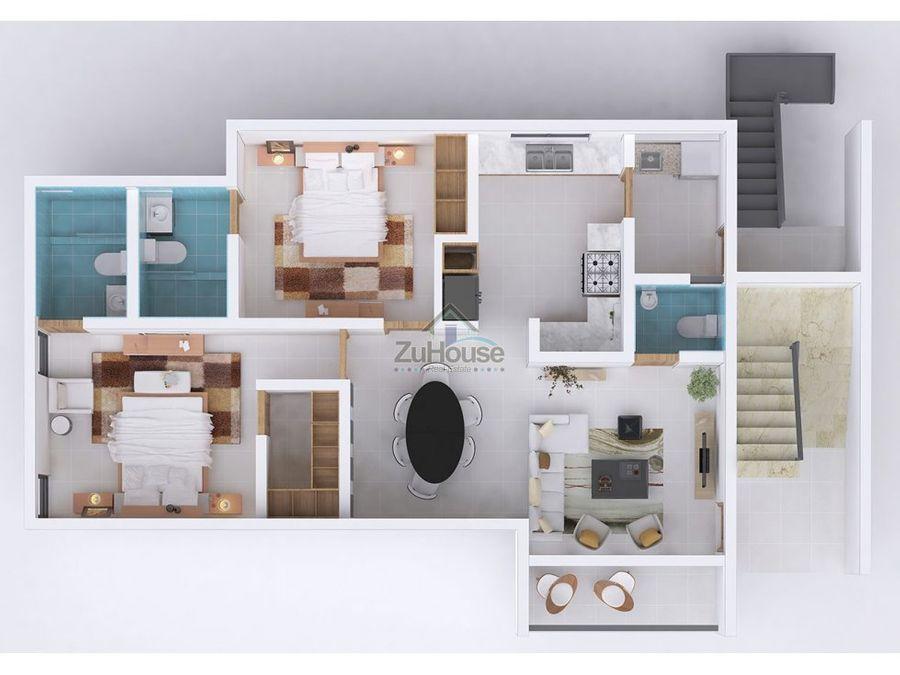 apartamento en venta reparto consuelo santiago