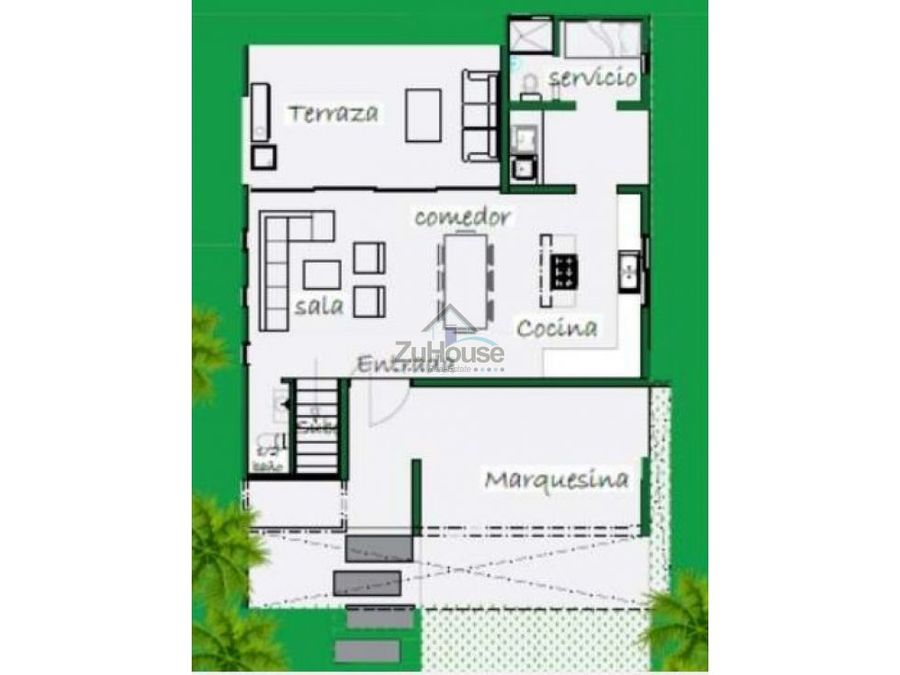 casa en venta en cerro hermoso santiago wpc19