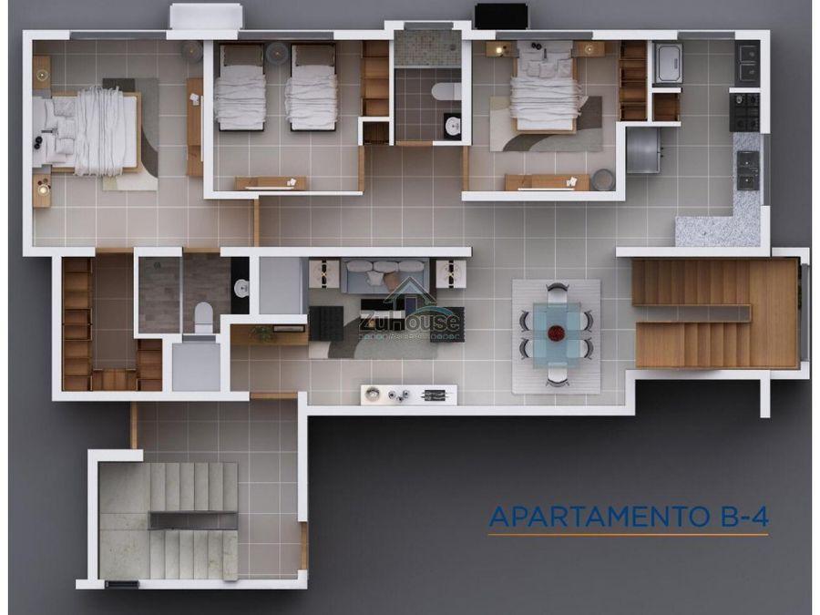 penthouse con estudio en venta en el embrujo iii wpa49 b4 2