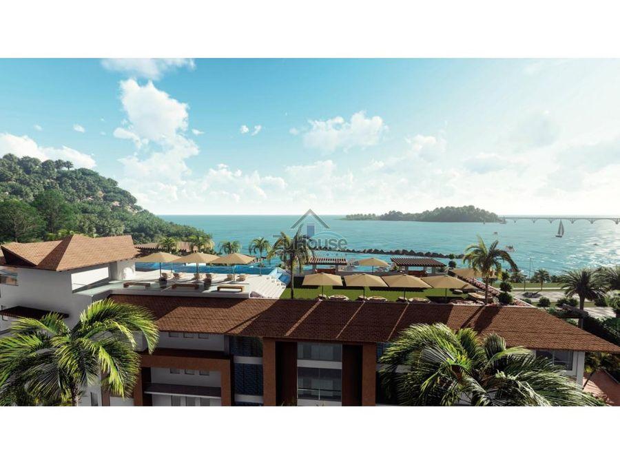 apartaestudio en venta con hermosa vista al mar de samana wpa130 a2