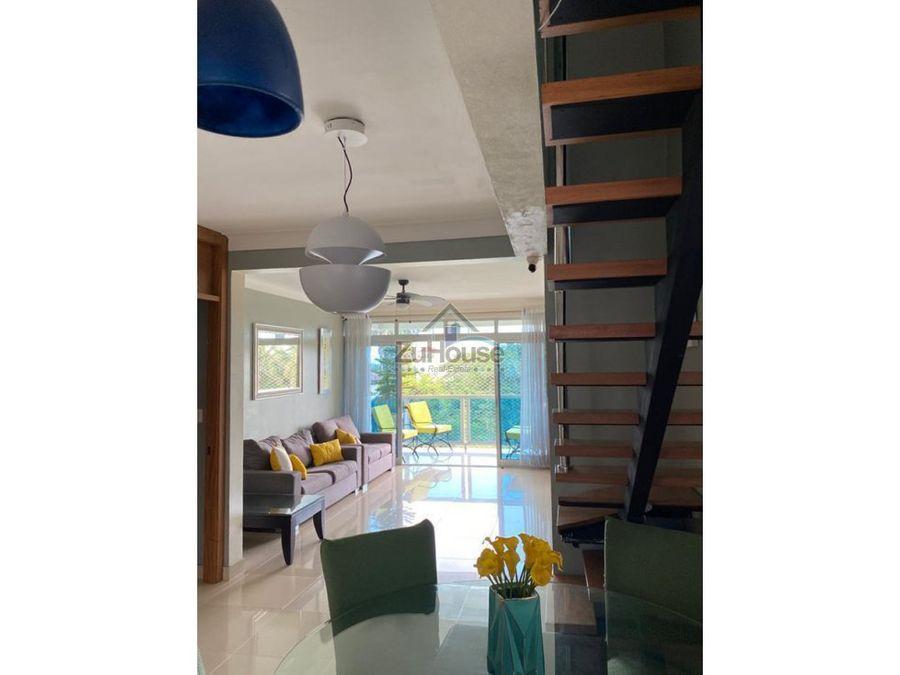 apartamento tipo penthouse en venta en santiago aja04