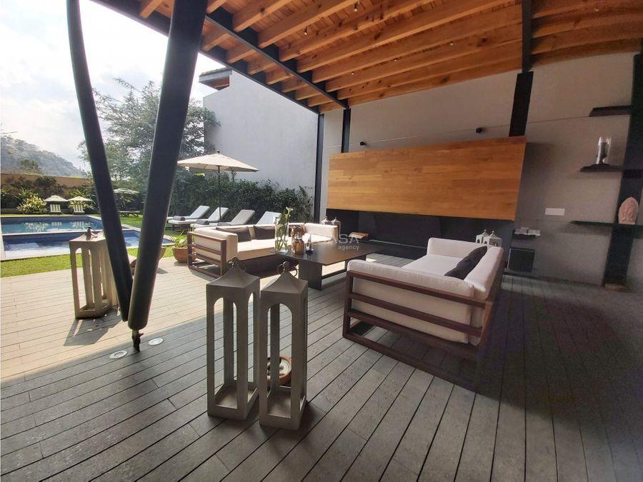 espectacular casa estilo moderno