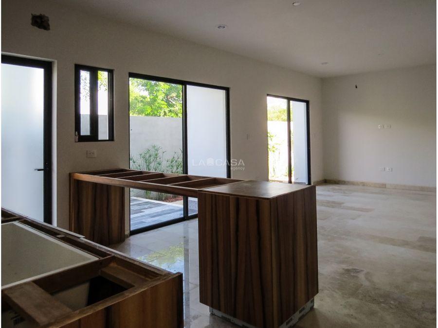 casa en temozon de 4 habitaciones con piscina