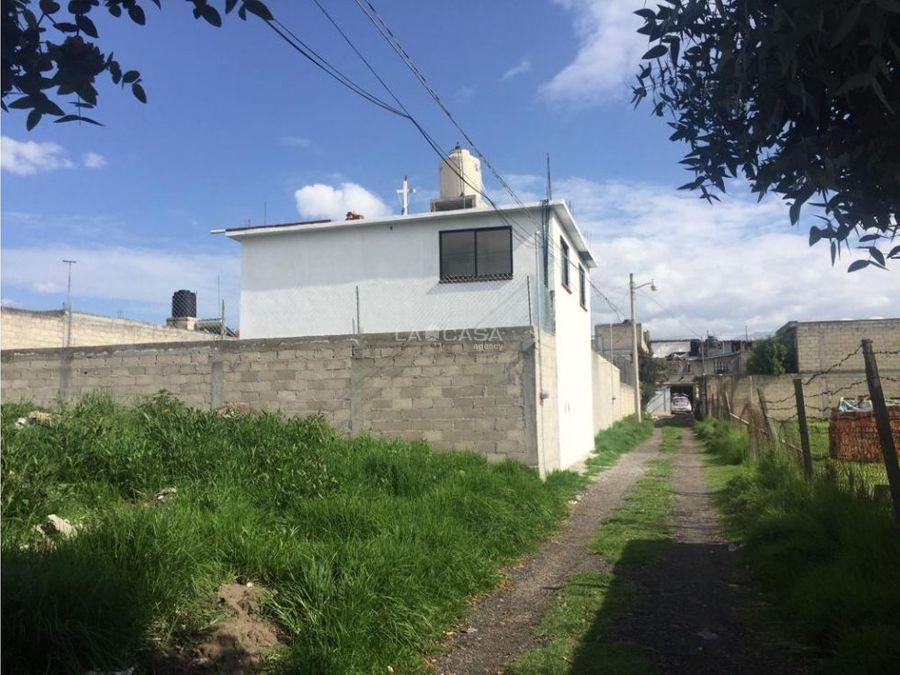 casa nueva en zinacantepec