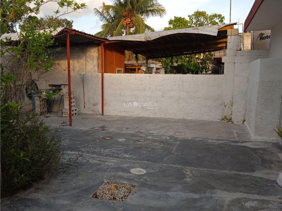 bonita casa con terreno amplio en progreso yucatan