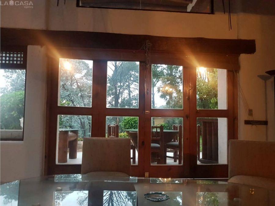 acogedora casa en avandaro