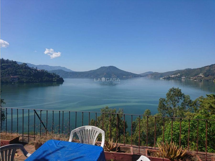 casa vallesana con excelente vista franca al lago