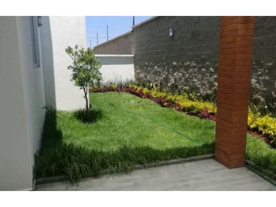 casa en residencial zona providencia metepec