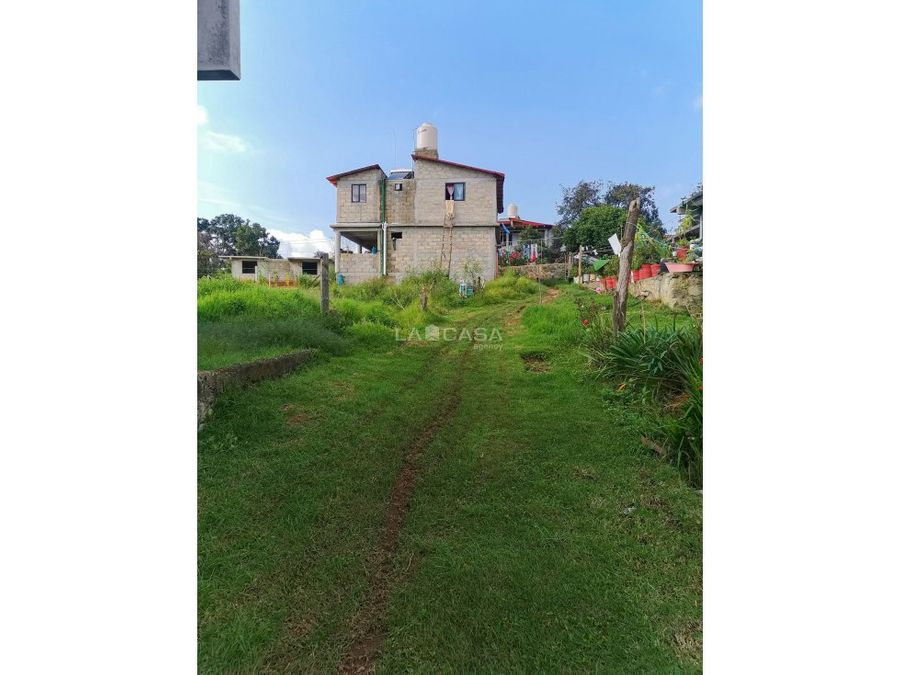 casa campirana a precio de terreno en acatitlan