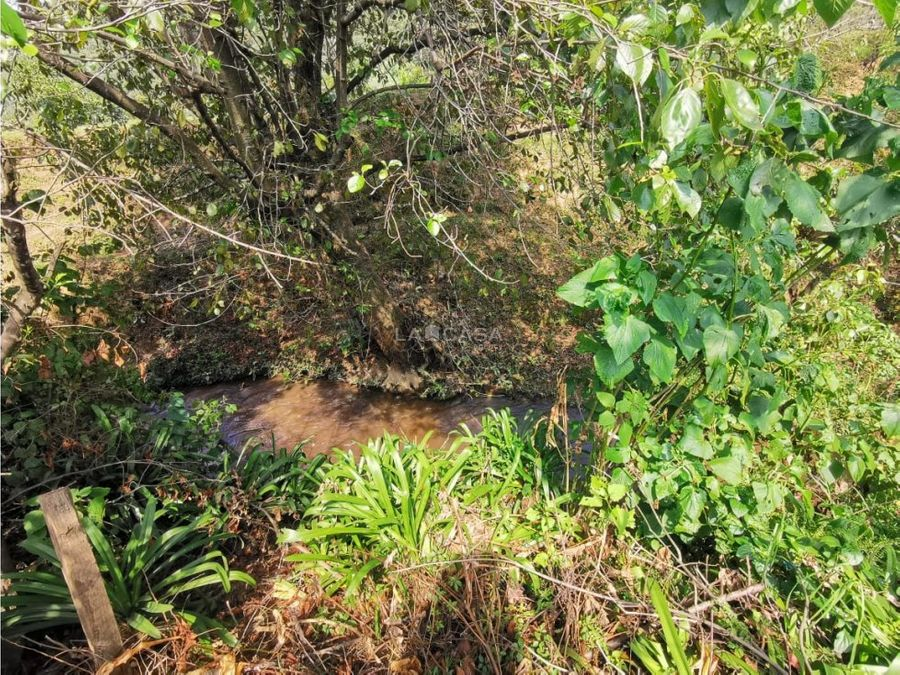casa campirana para reformar con gran jardin y rio en pipioltepec