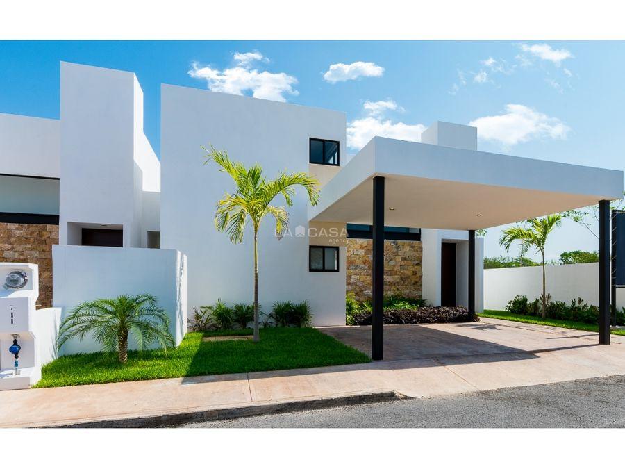 casa en venta en conkal con opcion de configuraciones adicionales