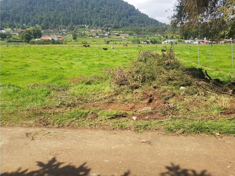 pequeno terreno en cerro gordo