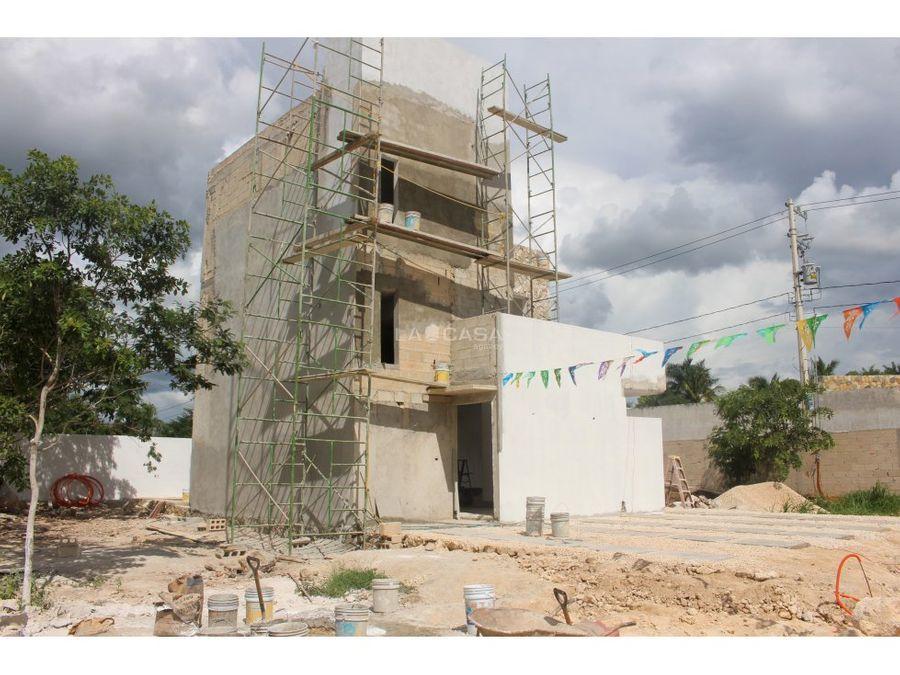modelo viento casa en conkal