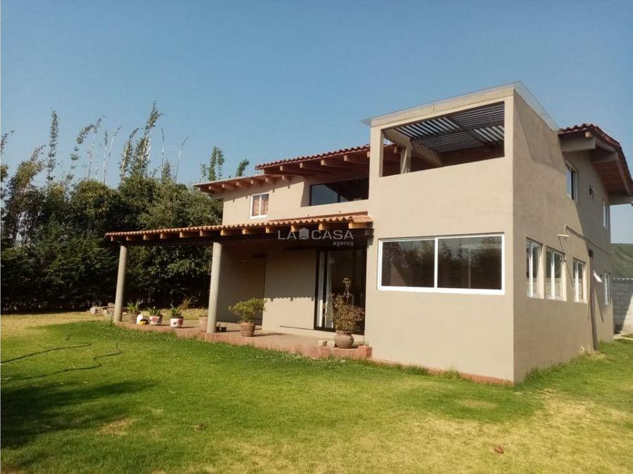 bonita y acogedora casa de campo