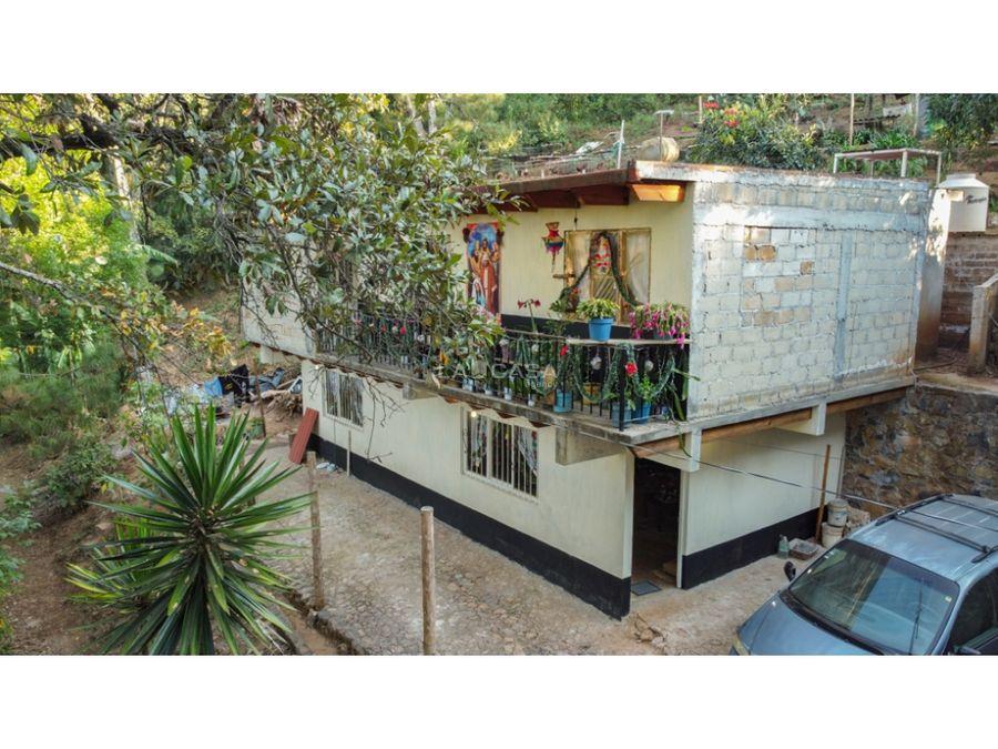 casa para remodelar con vista al bosque valle de bravo