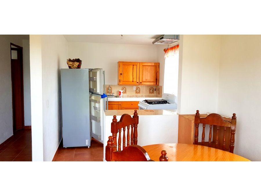 casa semiamueblada 6200 mes
