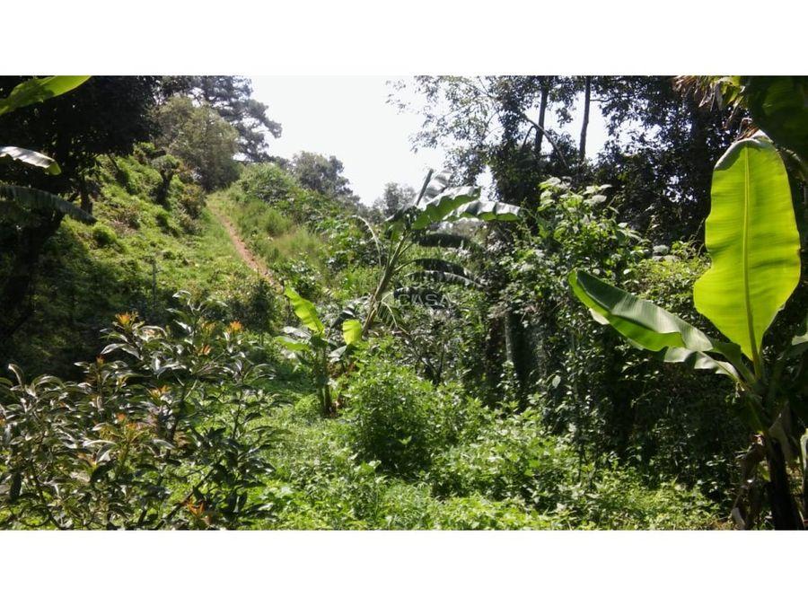 lote con bello entorno a la naturaleza