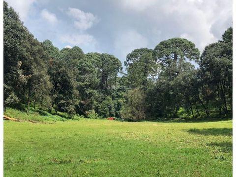 terreno en cerro gordo con manantial