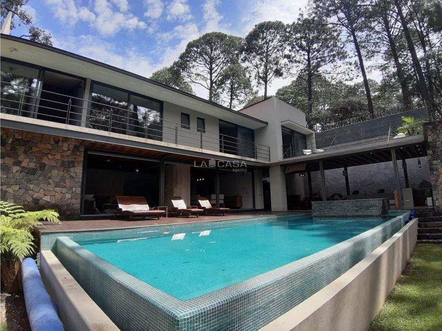 crt residencia nueva en avandaro a la renta