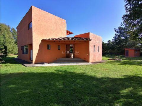 casa de campo en pipioltepec