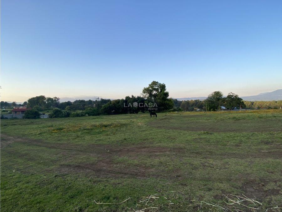 terreno en cerro gordo