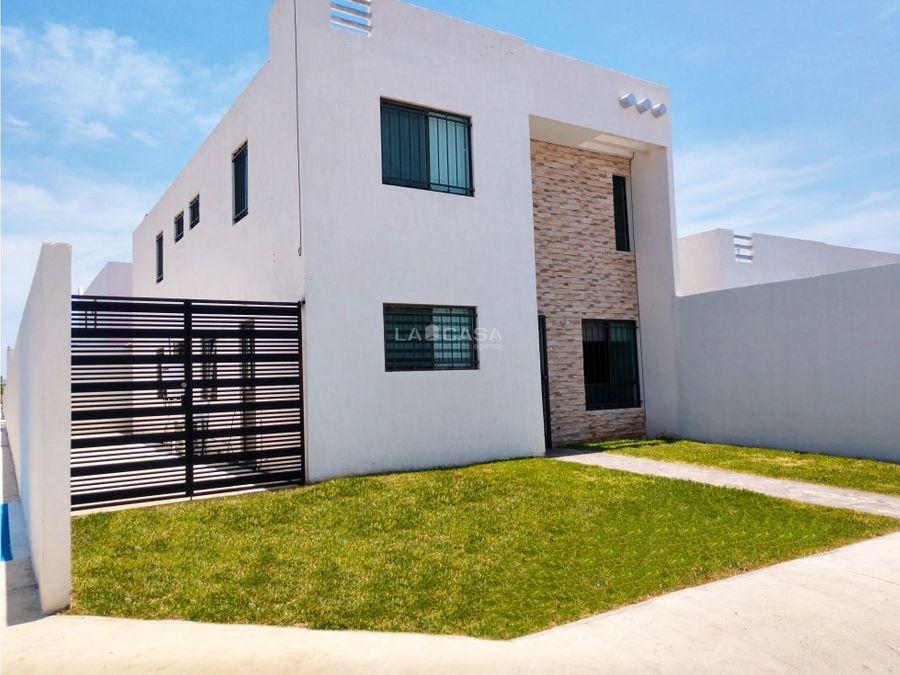 casa en renta de 3 habitaciones en las americas