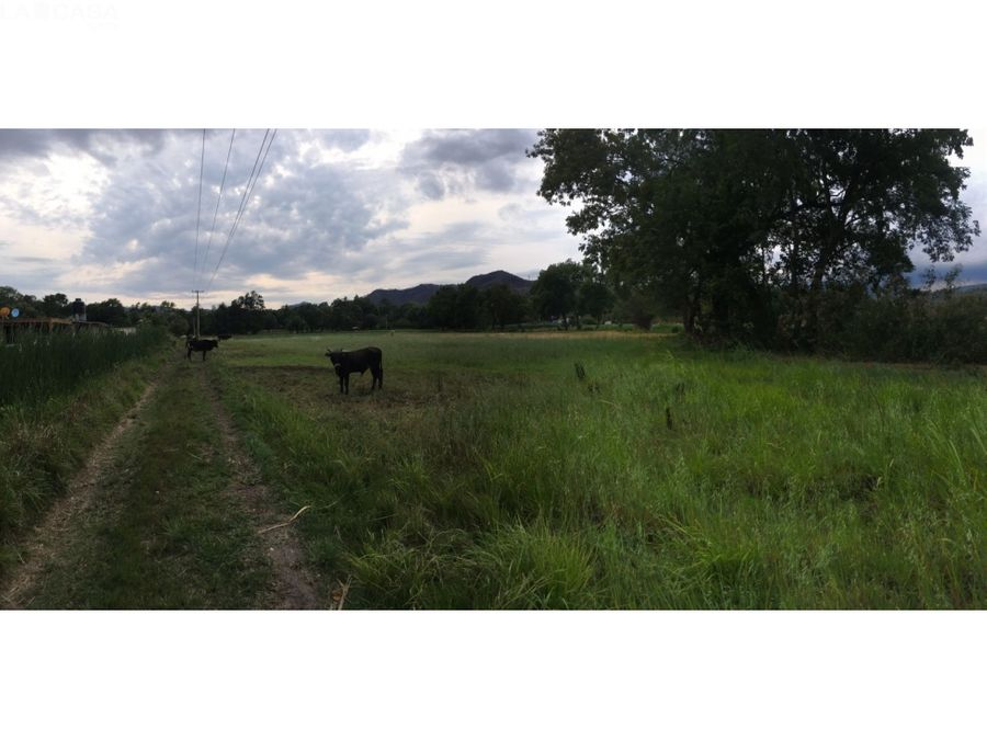 terreno para rancho valle de bravo