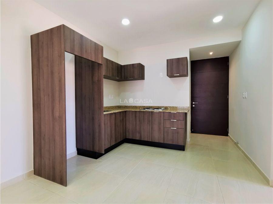 departamento equipado de 2 habitaciones en cholul