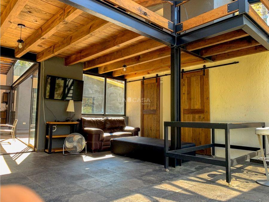 casa moderna en venta en avandaro valle de bravo