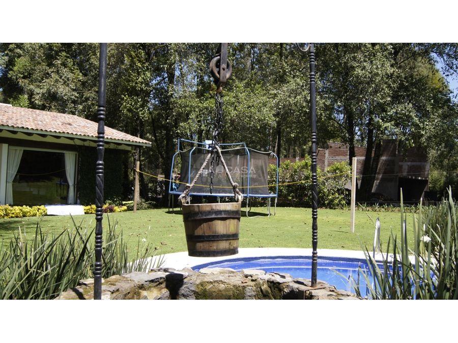 casa estilo vasco en rancho avandaro