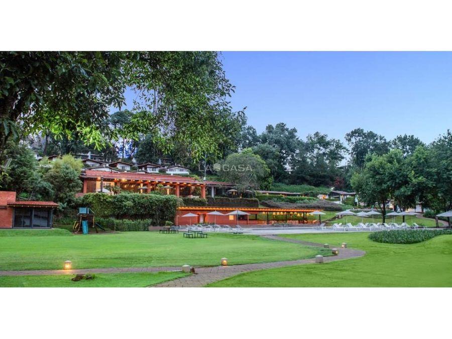 hermosa villa dentro del exclusivo club de golf avandaro