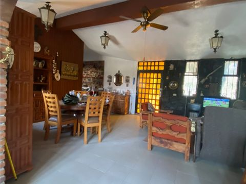 bonita casa campestre en venta
